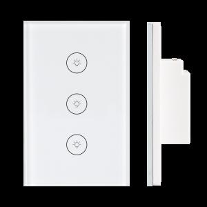 04.Công tắc Wifi SmartLife chữ nhật kính trắng – DÒNG CLASSIC
