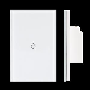 06.Công tắc Wifi SmartLife chữ nhật kính trắng(dành cho máy nước nóng lạnh) – DÒNG CLASSIC