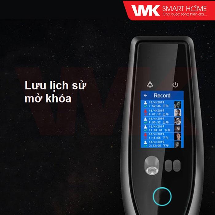 Khóa Cửa Thông Minh Nhận Dạng Khuôn Mặt Wifi
