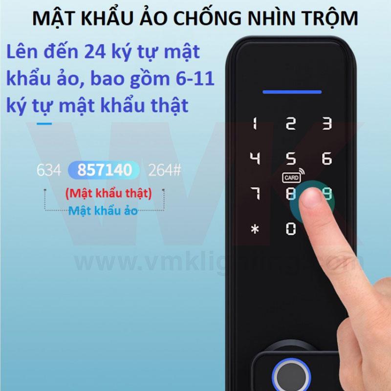 Khóa Vân Tay Thông Minh Tuya X3