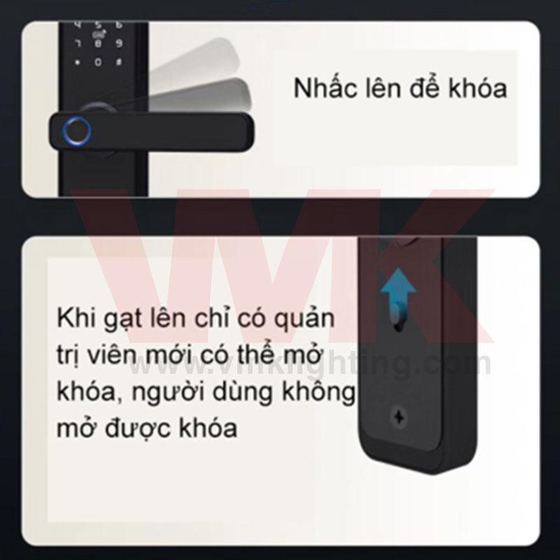 Khóa Vân Tay Thông Minh Tuya X1
